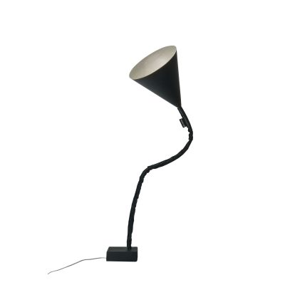 Flower Lavagna Floor Lamp Silver