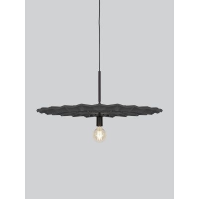 Fold Pendant Light Dark Grey
