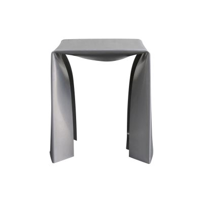 Folded Stool  Silver