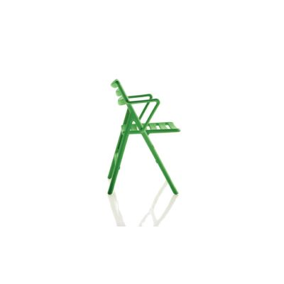Folding Air-Chair Armchair - Set of 2 Matt Orange
