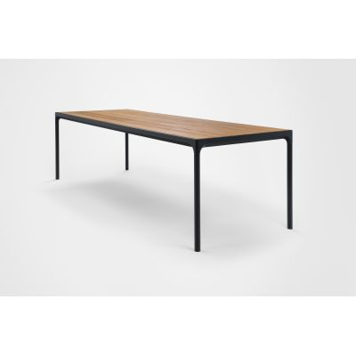 Four Dining Table Black, 270cm