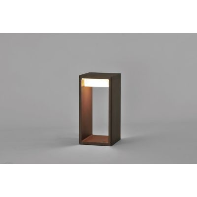 Frame Outdoor Light Large,Corten,Fluorescent