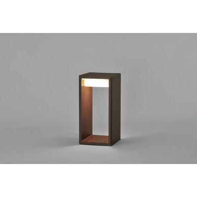 Frame Outdoor Light Large,Corten,Fluorescent