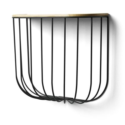 Fuwl Cage Shelf Black