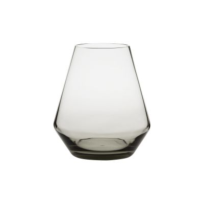 Fyr Candle Lantern Smoked Grey