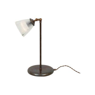 Gadar Table Lamp Satin Chrome, UL Plug