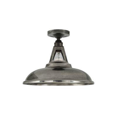 Geneva Ceiling Light Satin Brass