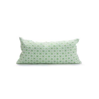 Geo Origami Rectangular Cushion Cover Mint