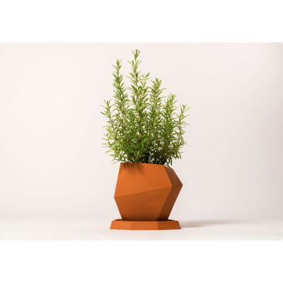 Geometric Large Pot