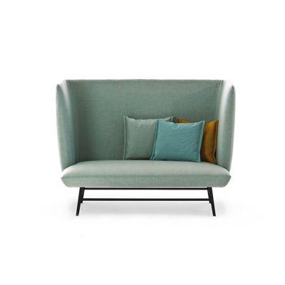Gimme Shelter Sofa - New 160, Raw Black, A6130 - Denim 200 beige - S