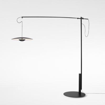Ginger Floor lamp Marset - Oak, 187cm
