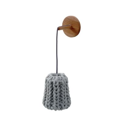 Granny Wall Lamp light grey