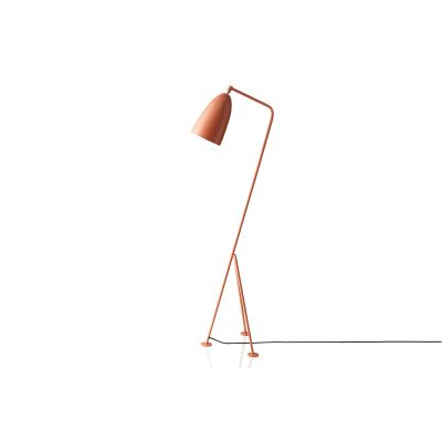Gräshoppa Floor Lamp Metal Vintage Red