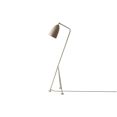Gräshoppa Floor Lamp Metal Oyster White