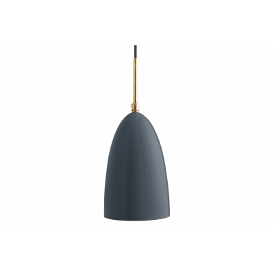 Gräshoppa Pendant Light Metal Anthracite Grey