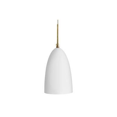 Gräshoppa Pendant Light Metal Matt White