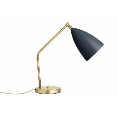 Gräshoppa Table Lamp Metal Oyster White