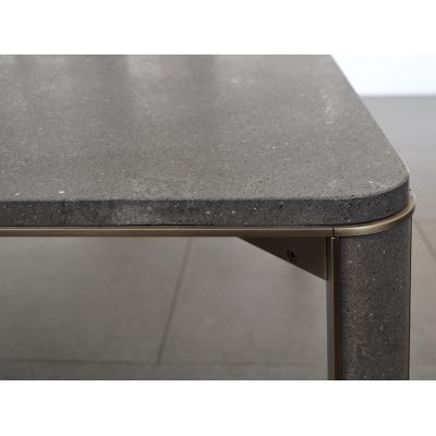 Gregorio rectangular dining table Basaltina