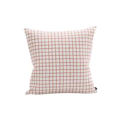 Grid Cushion - Set of 2 Grid Peach