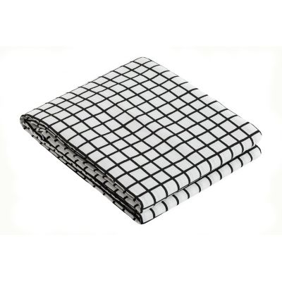 Grid Tablecloth Grid Black