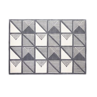Gridwork Two-Tone Wool Rug Gridwork Two-Tone Wool Rug