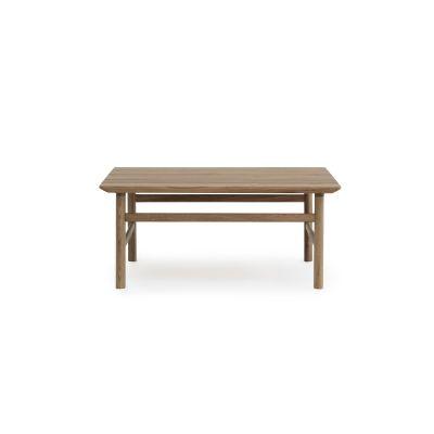 Grow Square Coffee Table Smoked Oak