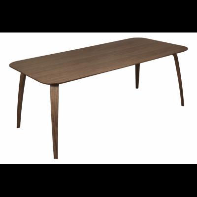 Gubi Rectangular Dining Table Gubi Wood American Walnut