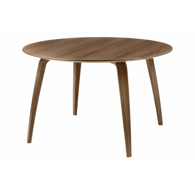 Gubi Round Dining Table Gubi Wood American Walnut
