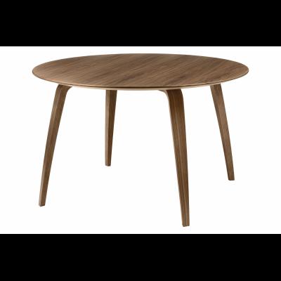 Gubi Round Dining Table Gubi Wood American Walnut