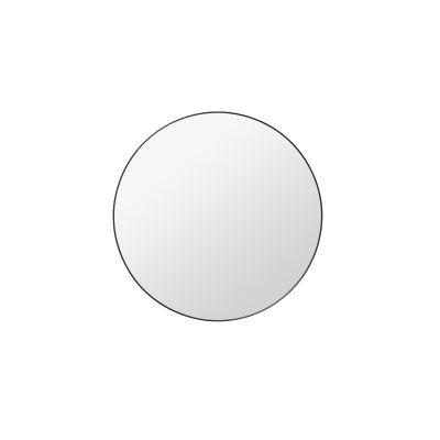 Gubi Round Mirror Black Brass