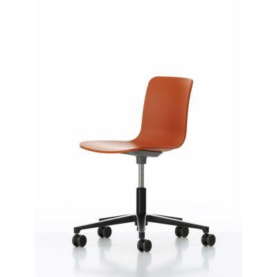 HAL Studio Without Seat Upholstery 65 orange, 03 castors soft - braked for hard floor