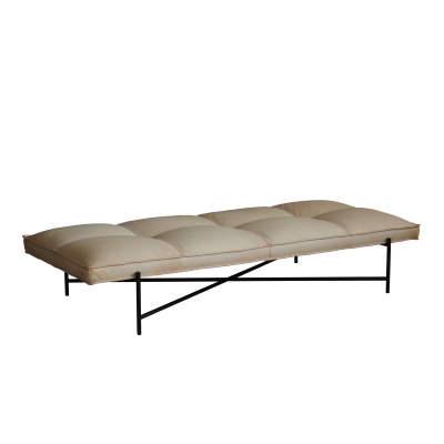 Handvärk Daybed Vegetal Aniline Leather