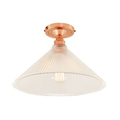 Hanoi Ceiling Light Polished Copper