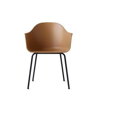 Harbour Chair - Steel Base Black, Khaki