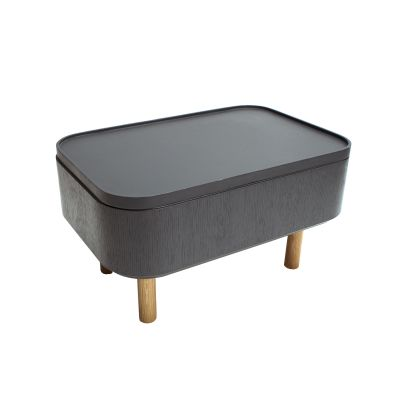 Hat Side Table Grey