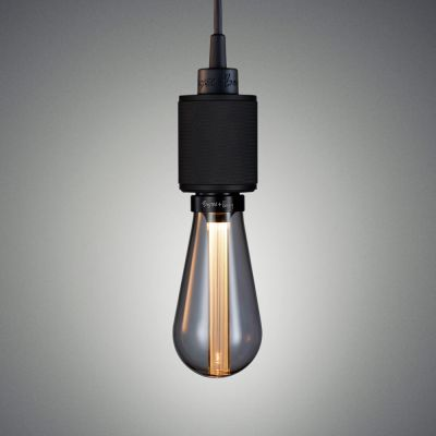 Heavy Metal Pendant Light Matt Black