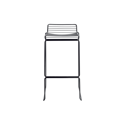 Hee Bar Stool Black, High 86 cm