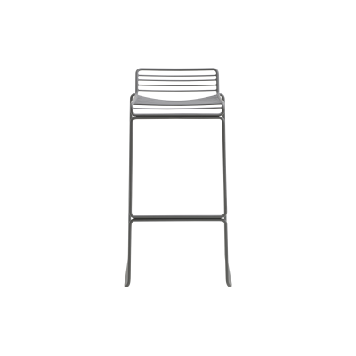 Hee Bar Stool Grey, High