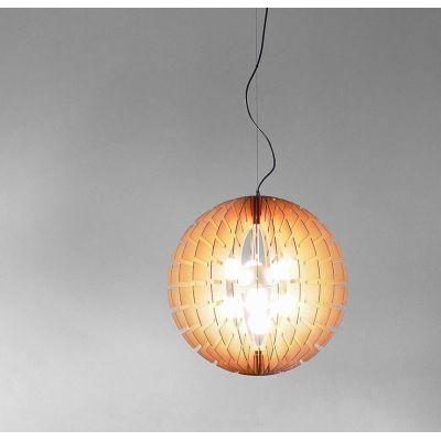 Helios Wood Suspension Lamp