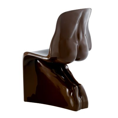 Her Chair - Set of 2 Black RAL9004