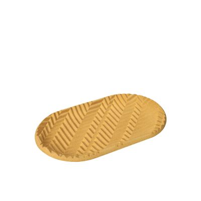 Herringbone Tray - Yellow Herringbone Tray - Yellow