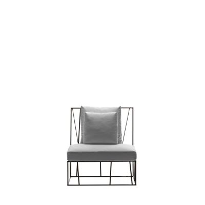 Herve Single seat Grey/Olive-Green