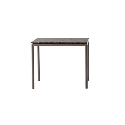 High Time side table 407 Polished chrome, Frassino Ash Wood 113