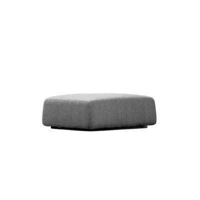 Highlands Footstool 50 x 50, A7344 - Units 1 Stelvio light grey