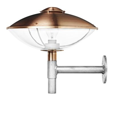 HL410 Outdoor Wall Light Clear acrylic