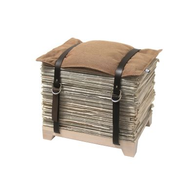 Hockenheimer Storage Stool Magazine Long