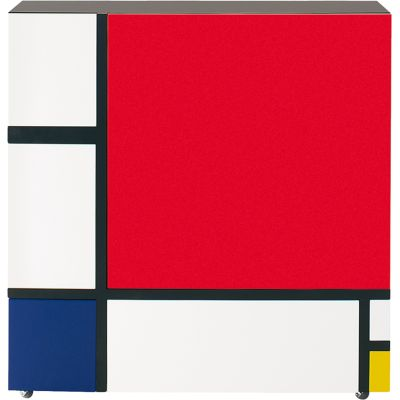 Homage to Mondrian White/Red/Blue/Yellow