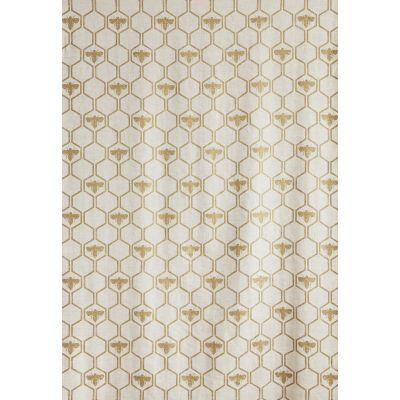 Honey Bees Fabric  Gold