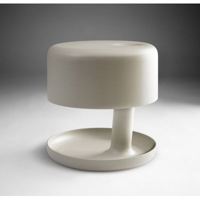 Hoodie Table Lamp Matte Beige
