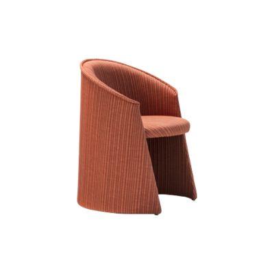 Husk Indoor Armchair B0211 - Leather Oil cirè, Large